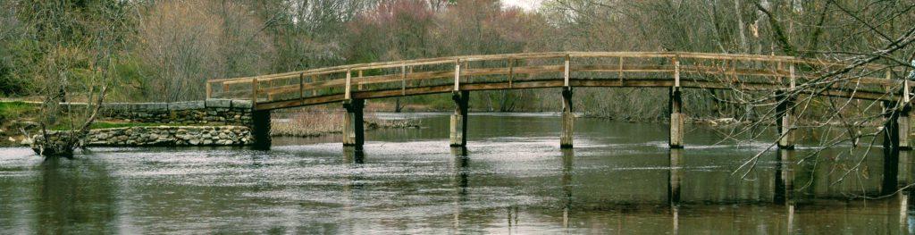 [The North Bridge on the Concord River]