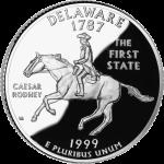 [Delaware quarter]