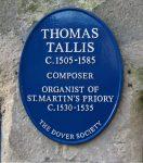 [Thomas Tallis historical marker]