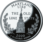 [Maryland State Quarter]