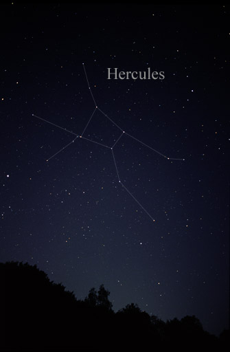 [The constellation Hercules]