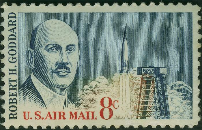 [Goddard air mail stamp]