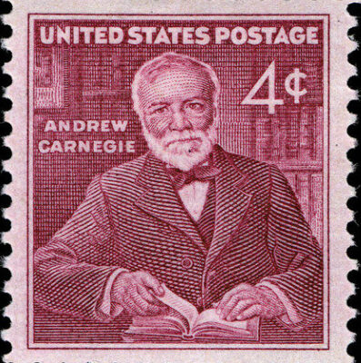 📚 BOOKS & LIBRARIES: Happy Birthday to Andrew Carnegie!